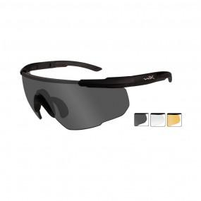 WILEY X SABER ADVANCED Smoke Grey/Clear/Light Rush Matte Black Frame