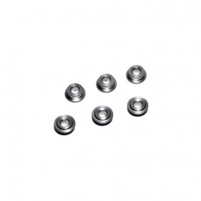 MODIFY Tempered Stainless Bushing 6mm (6 pcs)