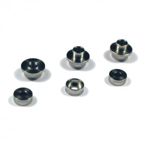 MODIFY Stainless Bushing for SMOOTH Modular Gear Set 6mm (6 pcs)