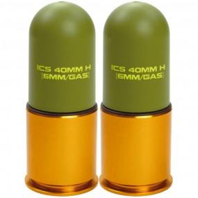 ICS MA-138 40mm Lightweight Grenade (2 pcs/box)
