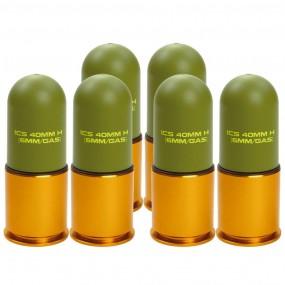 ICS MA-158 40mm Lightweight Grenade (6 pcs/box)
