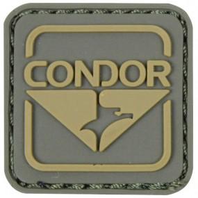 CONDOR 18001-008 Emblem PVC Patch Green/Brown