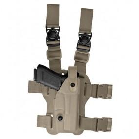 """VKL8 LAND Colt King Cobra 4""""/Python 4""""/Trooper 4"""" Tan Left Hand"""
