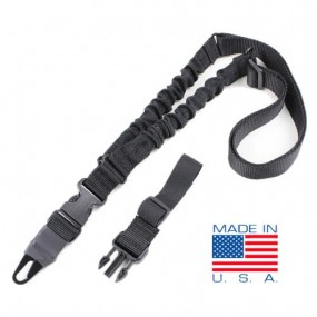 CONDOR US1022-002 ADDER Double Bungee One Point Sling Black