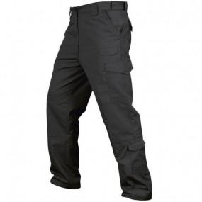 CONDOR 608-002-30-30 Tactical Pants - Lightweight Ripstop Black 30X30