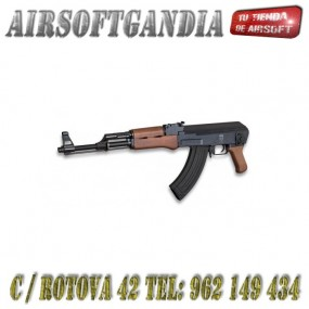 Golde Eagle AK47 Paraca Abs y Metal