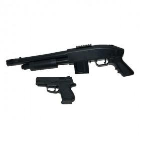 Tactial Kit m500 y Pistola 45