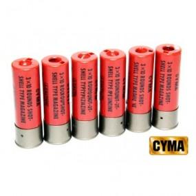Cargador cartucho de escopeta 30 bolas Cyma