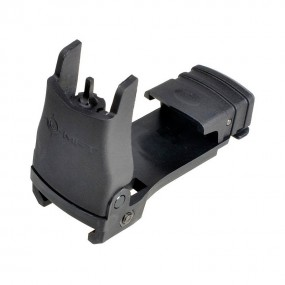 MADBULL Mission First Tactical Back Up Polymer Flip up Front Sight