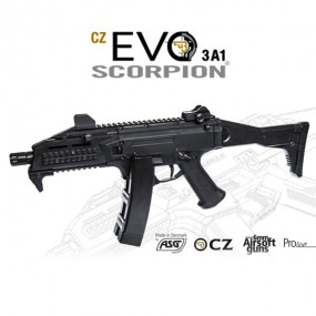 SCORPION CZ EVO 3A1- M95 VERSION. ASG