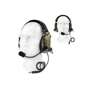 Comt II Headset multicam caja simple
