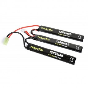 Bateria Li-Po 11.1V 1100mAh 20C (3 x mm 5.5x20x103) Phantom