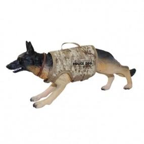 Perro Policia Arido Pixelado