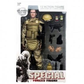 Soldado Special Force Arido-Pixelado