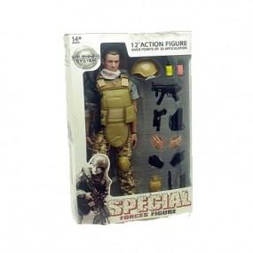 Soldado Special Force Herido Arido-Pixelado