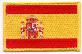 Parche Bordado Bandera España Velcro