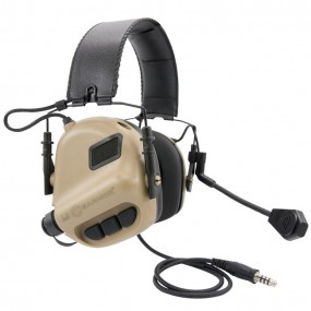 Earmor M32 MOD1 Tactical Hearing Protection Ear-Muff - Coyote Tan