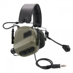 Earmor M32 MOD1 Tactical Hearing Protection Ear-Muff - Foliage Green