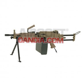 HPA A&K M249 Paraca - tan