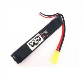 Bateria RACCOON 7.4V 1300MAH 25C tubo