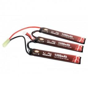 EVOLUTION LI-PO ULTRA POWER 11.1V 1300MAH 20C - 40C PEAK (3 X MM 6.1X21X130)