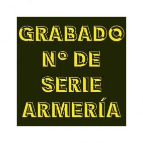 Marcado número de serie armero español