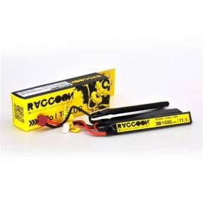 Bateria RACCOON PRO 1500mAh 25/50C 11.1V 3 Laminas