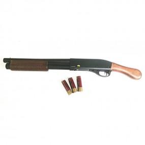 Escopeta Gas M870 con corredera y culata de madera Golden Eagle