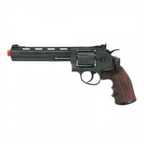 """REVOLVER CO2  C 704 6"""" NEGRO WIN GUN"""