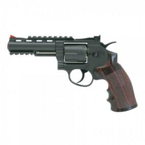 """REVOLVER CO2 C 701 4"""" NEGRO WIN GUN"""