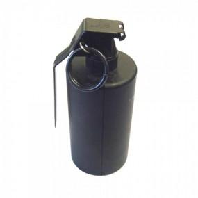 Granada de gas de mano negra