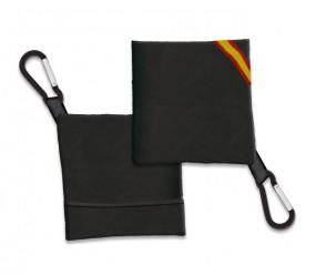 Portamascarilla Negro TNT con Bandera