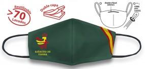 Mascarilla Verde Bandera E.Tierra
