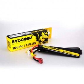 Batería 11.1V 1250mAh 25/50C RACCOON PRO D10