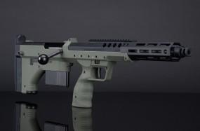 SRS A2 Covert 16 OD Silverback Desert Tech