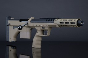 SRS A2 Sport FDE Silverback Desert Tech