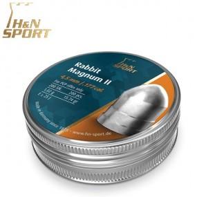 Balines H&N Rabbit Magnum II 1,02g lata 200 unid. 4,5mm