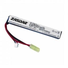 Batería Li-Po ZASDAR 7,4 V...