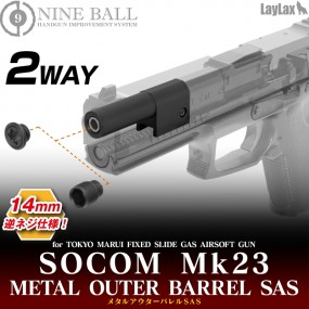 SOCOM Mk23 2 Way Metal...