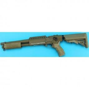 Short Breacher Shotgun G&P Tan