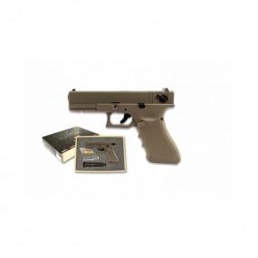 Pistola Glock EU18C TAN RAVEN