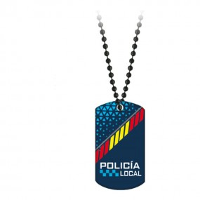 Chapa POLICIA LOCAL con Cadena