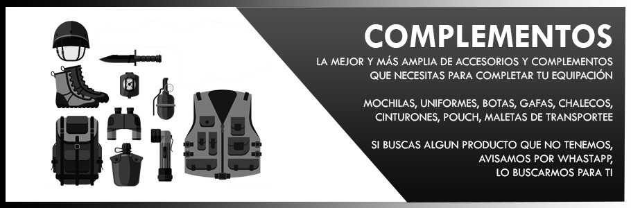 Complementos airsoft