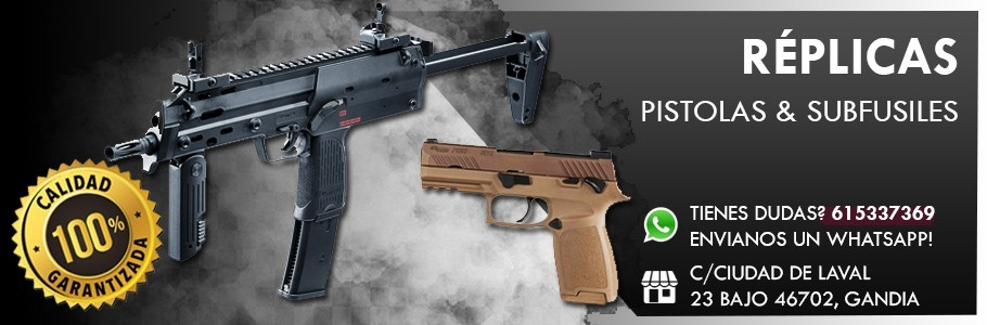 replicas/marcadoras airsoft serie pistolas